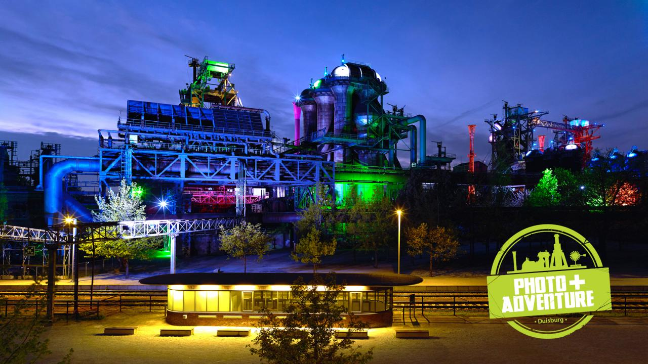 Photo+Adventure - Messe-Festival im Landschaftspark Duisburg - Foto 1