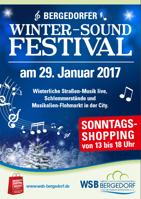 2017 01 29 bergedorfer winter sound festival mit sonntags shopping. Black Bedroom Furniture Sets. Home Design Ideas