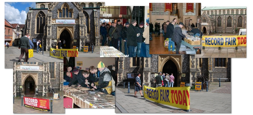 NORWICH RECORD FAIR - Foto 1