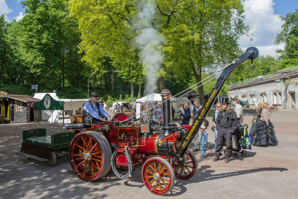Aethercircus Steampunk Festival Germany in der Hansestadt Buxtehude - Foto 1