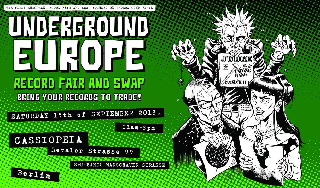 Underground Europe record fair and swap - Saturday 15/09/2018 - Foto 1