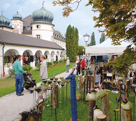 Kunsthandwerkermarkt Schloss Höhenried - Foto 2