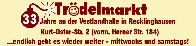 Trödelmarkt an der Vestlandhalle Recklinghausen